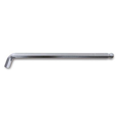 96BPA 110°-ban hajlított gömbfejű imbuszkulcs, extra rövid kivitel