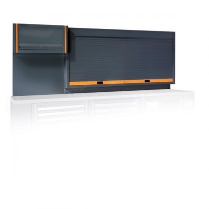 C55PP redőnyös szerszámtartó fal és polc műhelyberendezéshez