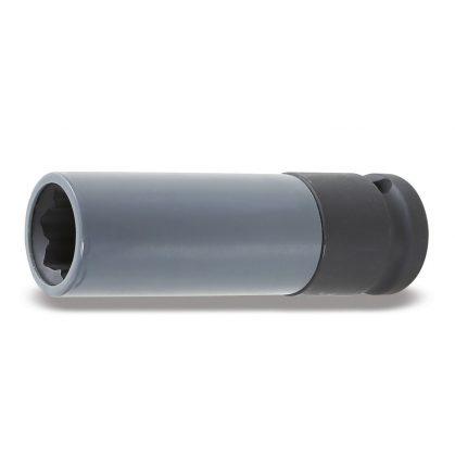 720MRC Gépi dugókulcs polimer betéttel Mercedes kerékanya profilhoz