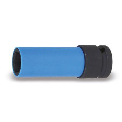 720LC Gépi dugókulcs kerékanyákhoz színes polimer betétekkel