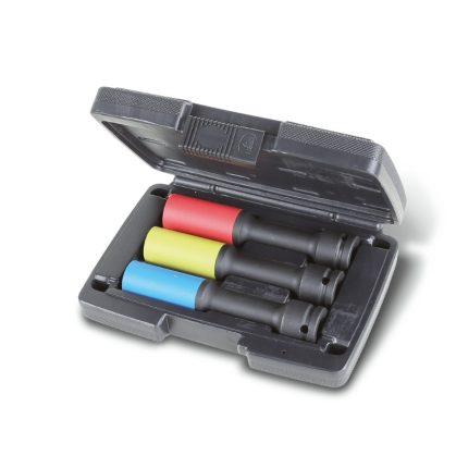 720LCL/C3 3 hosszú színes gépi dugókulcs polimer betétekkel kerékanyákhoz
