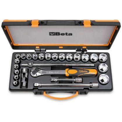 920A/C20X 20 dugókulcs és 5 tartozék fémdobozban