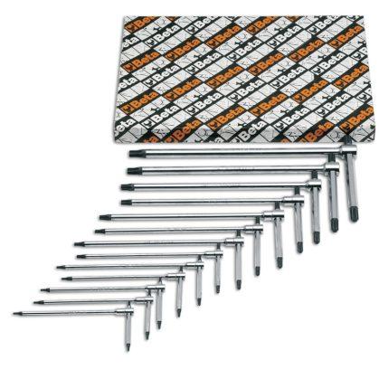 951TX/S13 13 hajlított imbuszkulcs, Torx®-csavarokhoz