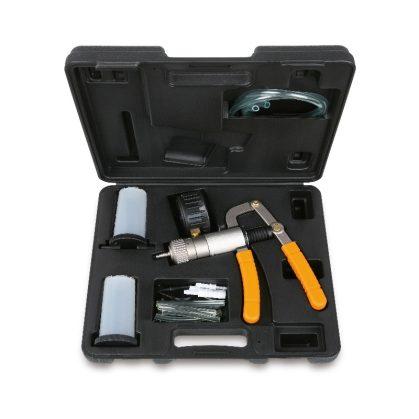 960P Vákum és nyomásmérő pisztoly tartozékkal és adapterekkel