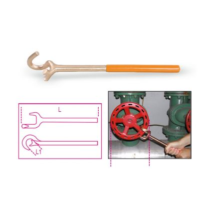 966BA/V szikramentes kulcsok, biztonsági szelepekhez