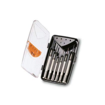 1229LPH/A6 6 műszerész csavarhúzó, műanyag dobozban