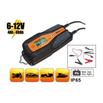 1498/4A 6-12 V autó-motor elektronikus akkumulátortöltő