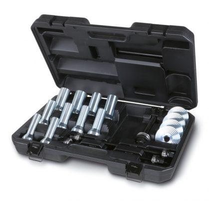 1569/B Szerszámkészlet szilentblokkok, olajvédő gumik kerékcsapágyak lehúzásához és behelyezéséhez