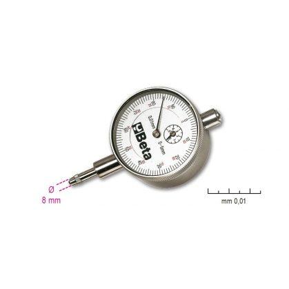 1662/1 - 1662/2 Mérőóra, kemény műanyag dobozban, pontosság 0.01 mm