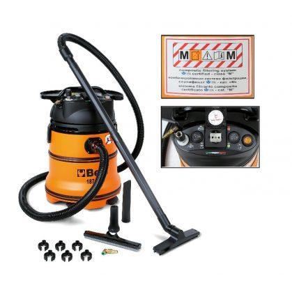 1871M 35 literes száraz-nedves porszívó áram és sűrített levegő szervizcsatlakozóval
