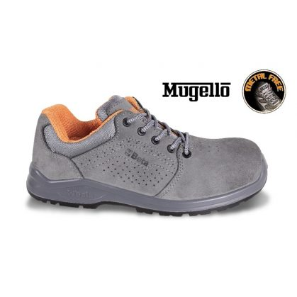 7211PG perforált hasítottbőr cipő