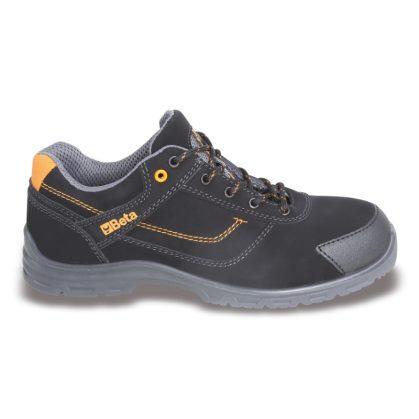 7214FN action nabuk bőr cipő, mérsékelten vízálló kopásálló orrvédő betéttel