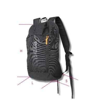 9541BIKE Oxford poliészter hátizsák, méret 41x24x16 cm