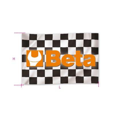 9590B Feliratozott nylon zászló