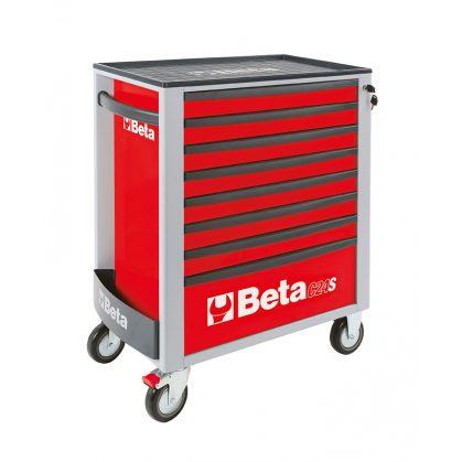 2400S-8/E-XL BETA EASY 8 fiókos szerszámkocsi 384 darabos szerszámkészlettel