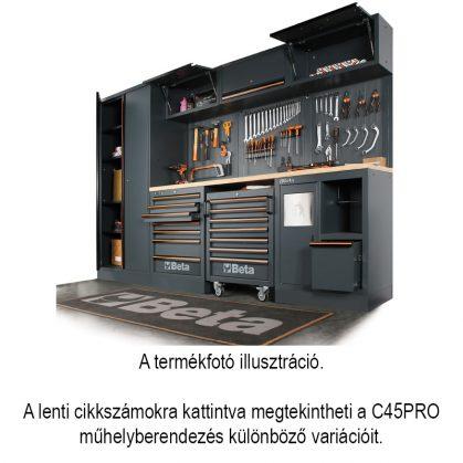 C45PRO műhelyberendezés összeállítás