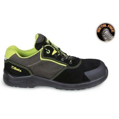7223 PEK EASY PLUS Hasított bőr cipő jól szellőző mesh betétekkel és kopásálló megerősítéssel az orr területén