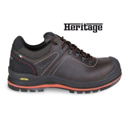 7293 HM Heavy Duty Faggyúzott full-grain bőrcipő nagyteljesítményű VIBRAM® talpfelülettel, kopásálló betéttel a saroknál, és poliuretán orrvédővel