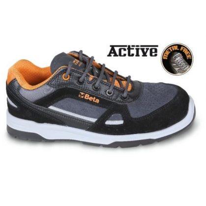 7315 AN Sneakers Perforált hasított bőr és mikorszálas cipő mérsékelten vízálló, karbon betétekkel