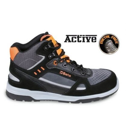 7318 AN Sneakers Hasított bőr és mikorszálas bokacipő mérsékelten vízálló, karbon betétekkel
