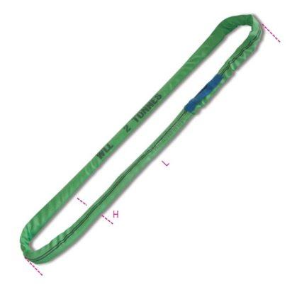 8173 2 t emelőheveder végtelenített heveder, zöld, nagy ellenállású polieszter (PES)