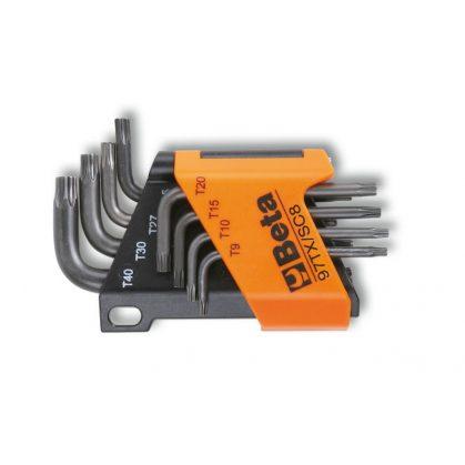 97TX/SC8 8 részes hajlított Torx(R) imbuszkulcs szerszám készlet tartóval