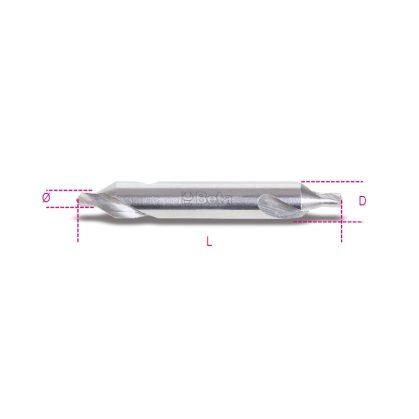 422 Rektifikált központosító fúróhegyek tágítási szög 60° HSS acélból