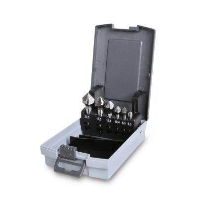 426/SP6 süllyesztő maró három vágóéllel szerszám készlet kofferban