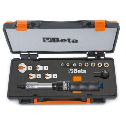 671B/C5 1 nyomatékkulcs 604B/5, 1 irányváltós racsni, 8 hatlapú dugókulcs és 4 villáskulcs
