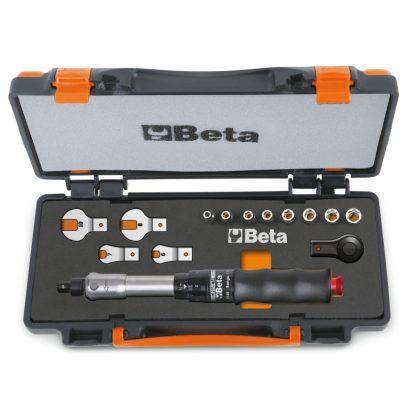 671B/C10 1 nyomatékkulcs 604B/10, 1 irányváltós racsni, 8 hatlapú-dugókulcs és 4 villáskulcs