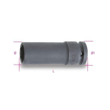 720LS Gépi dugókulcs csavarbehajtóhoz hosszú, keskeny kivitel foszfátozott
