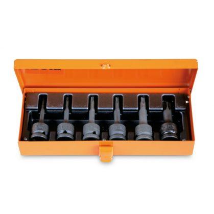 720TX/C6 6-részes gépi Torx® dugókulcs készlet fémdobozban