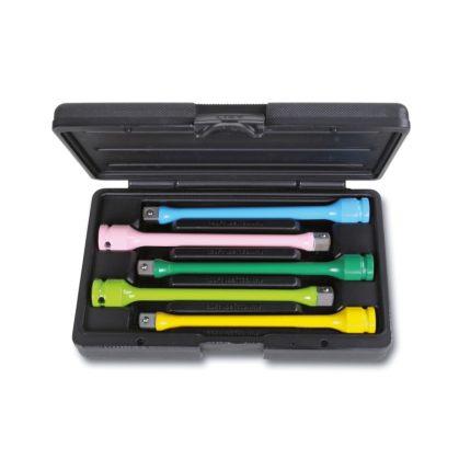 720TC/S5 5 darabos színes gépi torziós rúd kerékanyákhoz, készletben