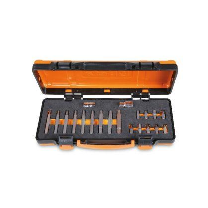 867/C20 18 RIBE® betétből álló készlet 10 mm hatlapfejű csatlakozóval és 2 tartozékkal lágy hőformázott tálcán és lemezdobozban