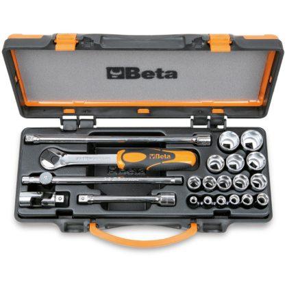 910A/C16 16 dugókulcs és 5 tartozék fémdobozban