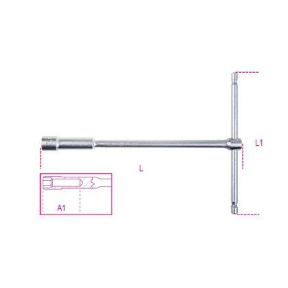 949 T szárú egyszerű kulcs mély hatlapfejű dugóvéggel