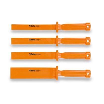 988/K4 4 darabos vésőkészlet kemény műanyagból