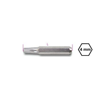 1256TX Csavarhúzóbetét 4 mm Torx®-csavarokhoz