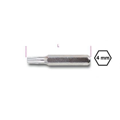 1256RTX Csavarhúzóbetét 4 mm Tamper Resistant Torx®-csavarokhoz