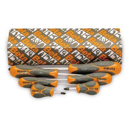 1299PZ/S6 6 részes csavarhúzó szerszám készlet Pozidriv® és Supadriv® csavarokhoz