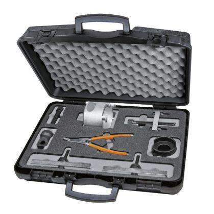 1438K/DSG 13 részes készlet a 6 és 7 fokozatú VW DSG tengelykapcsolók kiszereléséhez, beszereléséhez és beállításához