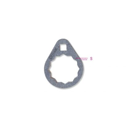 1493B Sokszögű olajszűrőleszedő kulcs nehezen hozzáférhető helyekhez