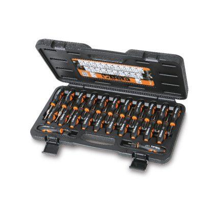 1497/C23 23 darabos szerszámkészlet az elektromos dugasz szerelésére