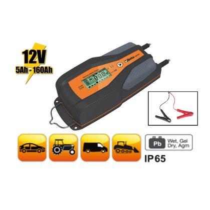 1498/8A 12 V autó-haszonjármű elektronikus akkumulátortöltő