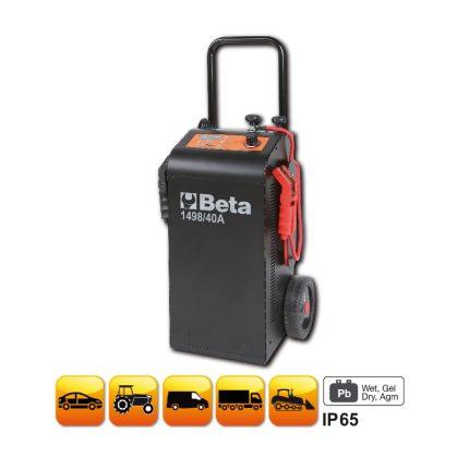 1498/40A 12-24 V kocsira szerelt többfunkciós akkumulátortöltő és gyorsindító