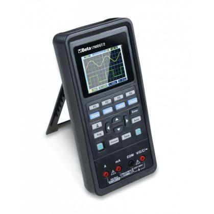 1760DGT/2 Digitális hordozható multiméter gépkocsikhoz, 2-csatornás oszcilloszkóppal és hullámgenerátorral