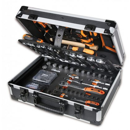 2056E/E-20 BETA EASY 163 darabos szerszámkészlettáskában, általánoskarbantartáshoz