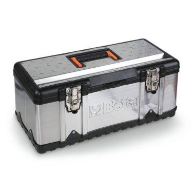 BETA 2117P-VU/1 Szerszámos láda acéllemezből és műanyagból, betéttel szerszámkészlet