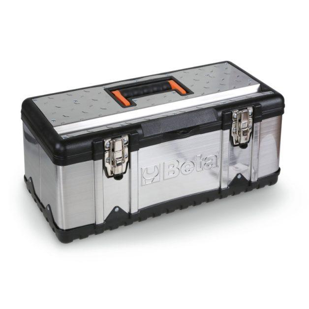 CP17 - CP17L - 2117 Szerszámos láda acéllemezből és műanyagból, betéttel