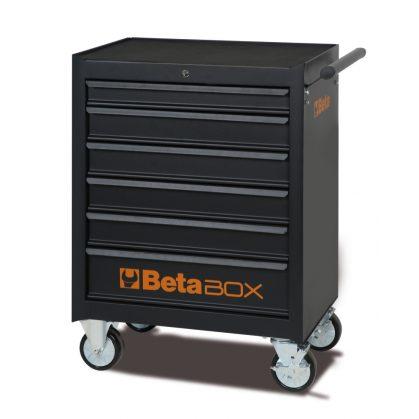 C04BOX BETA EASY 6 fiókos szerszámkocsi 196 darabos szerszámkészlettel